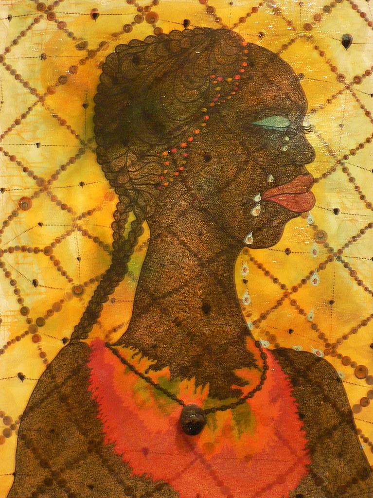 Chris Ofili No Woman No Cry Tate Britain  No Woman No