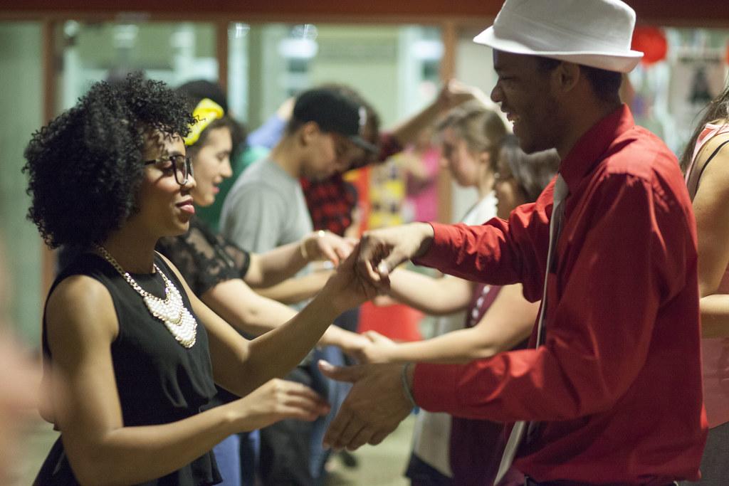 SalsaMerengueBachata Dance at College of DuPage Feb 201  Flickr