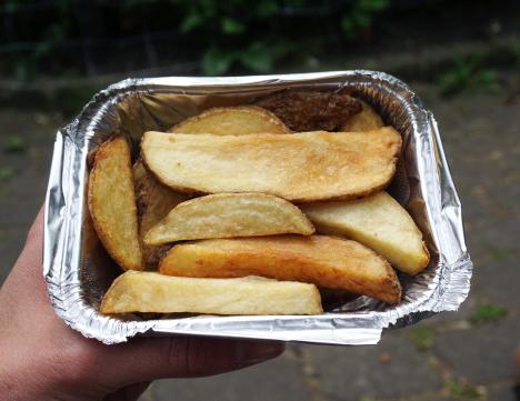 Gluten free chips from Tierra Peru in Islington