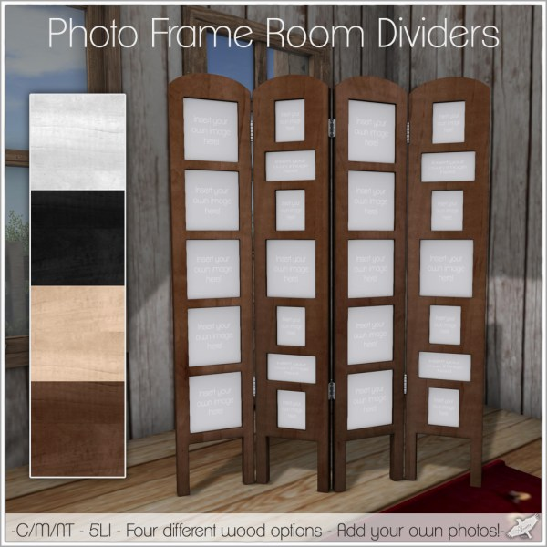 Picture Frames as Room Dividers