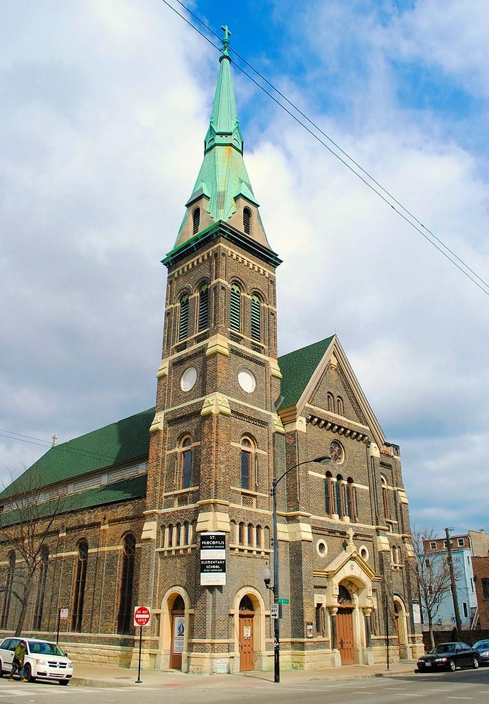 St Procopius Catholic Church 1641 S Allport St Chicago Flickr