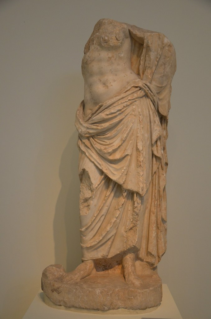 Statue of a goddess possibly Aphrodite found near the Mo  Flickr