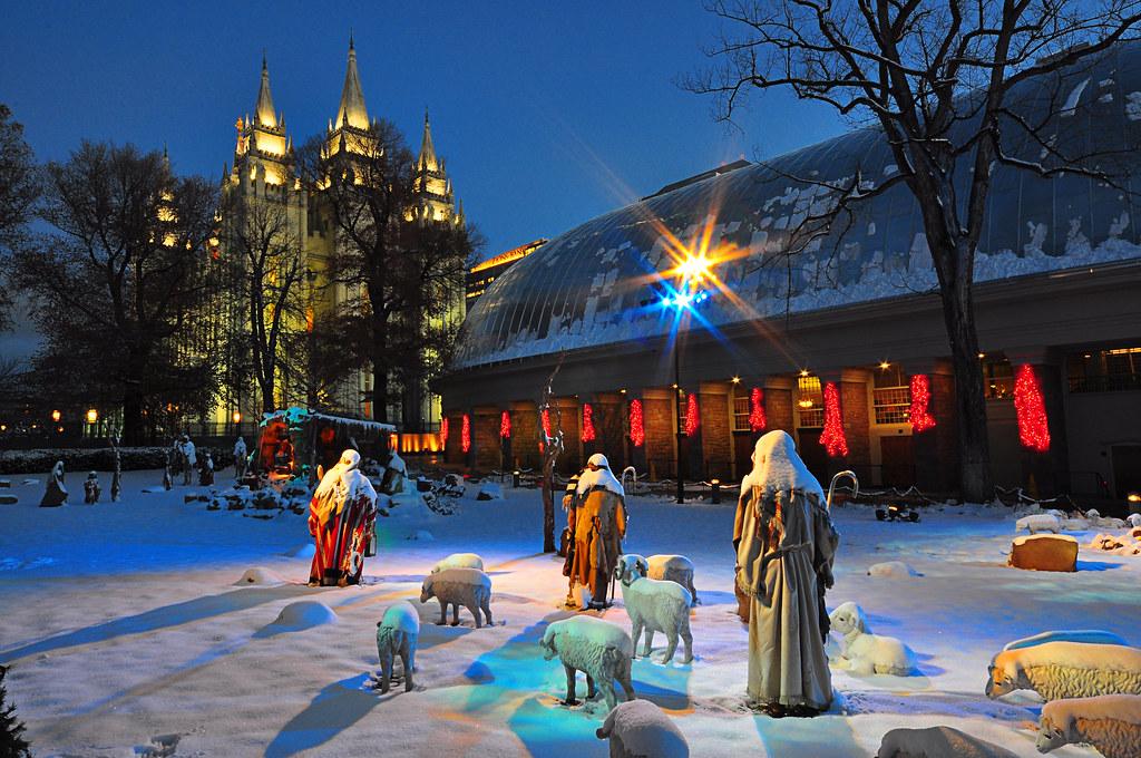 Temple Nativity Temple Square Salt Lake City Utah Flickr