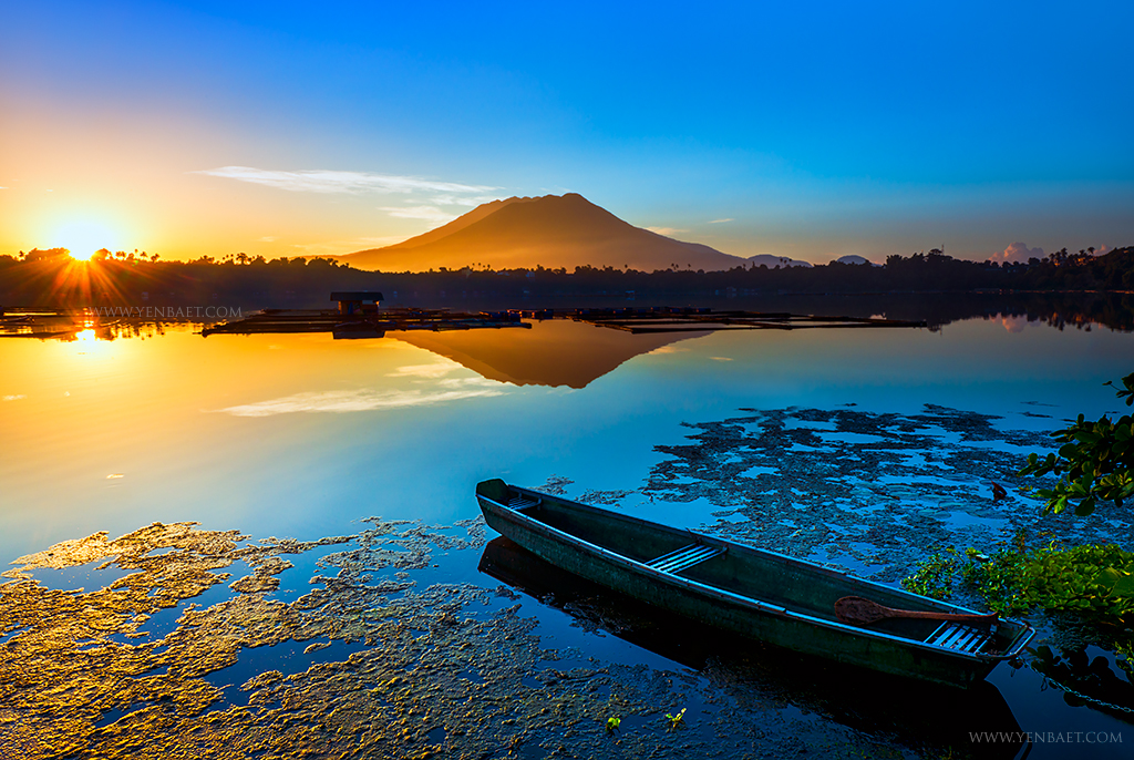 San Pablo City  Sampaloc Lake Sunrise  Sampaloc Lake  Sa  Flickr