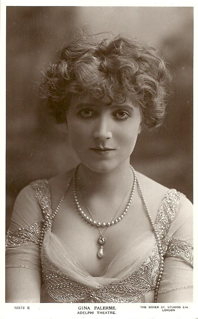 Gina Palerme British Postcard The Dover Street Studios