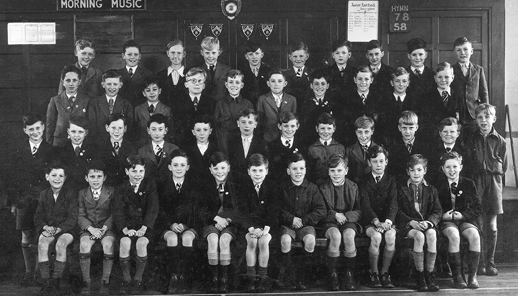 Brumby Primary School Scunthorpe  The Boys form 1953 The bo  Flickr