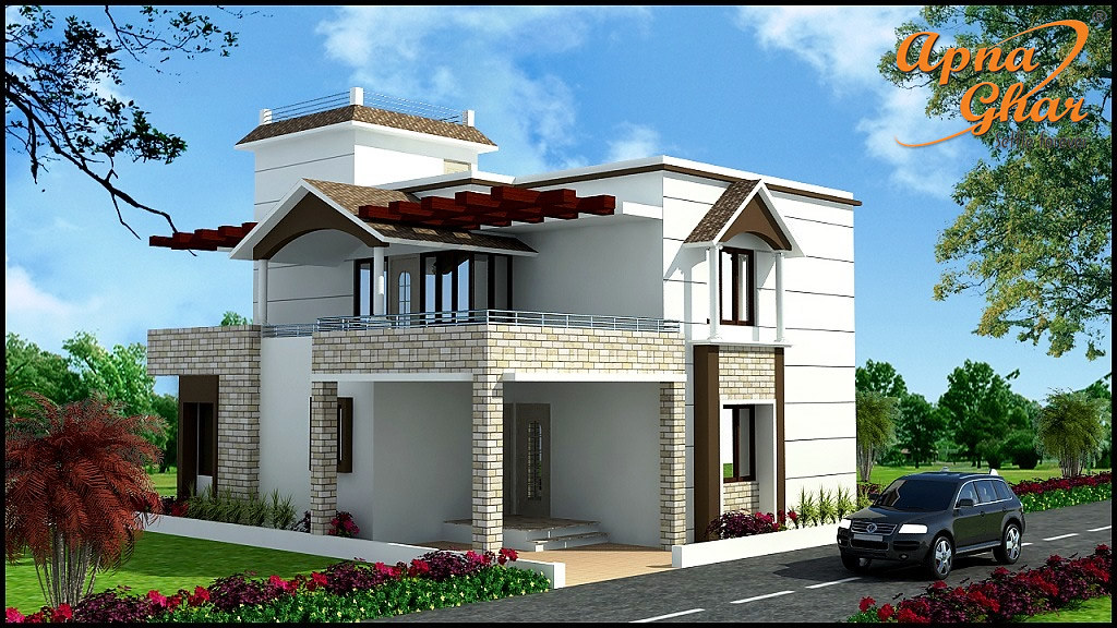 A Beautiful Duplex House Design With 4 Bedroom In 225 Sq M