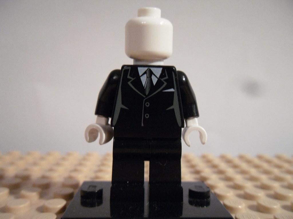 Lego Slenderman Slender Purist Lego Slenderman Slende Flickr