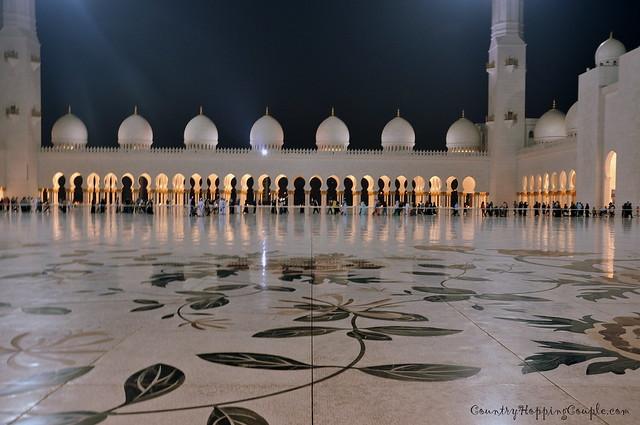 Grand Mosque Abu Dhabi 4