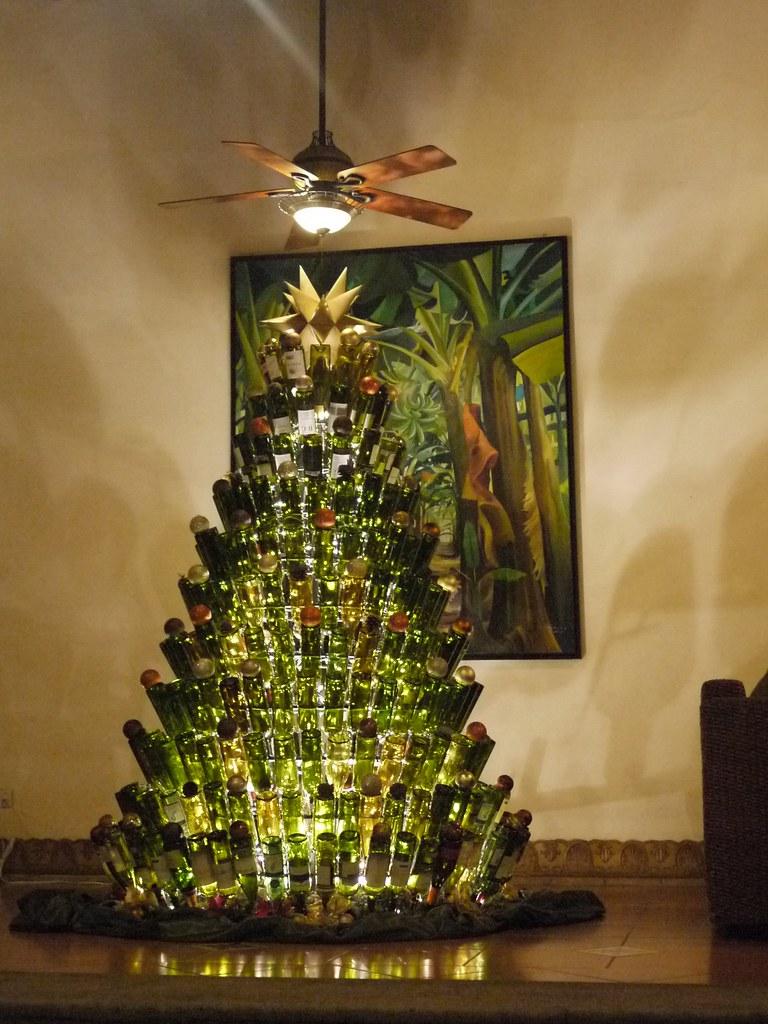Wine Bottle Christmas Tree Chris Martin Flickr