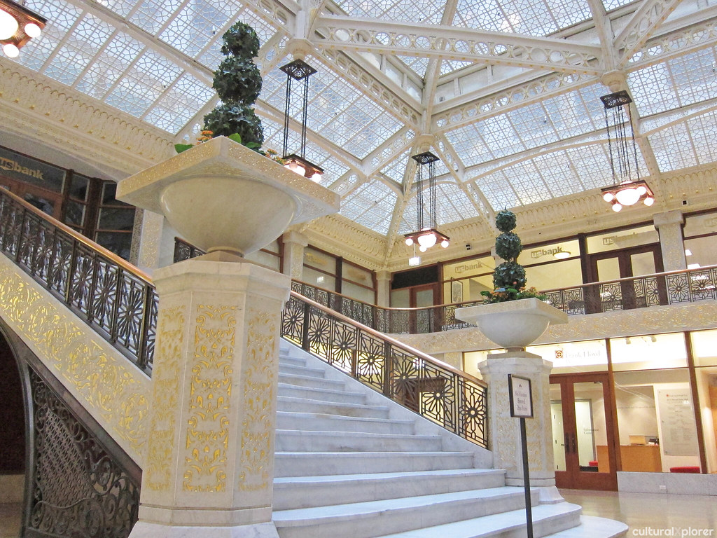 Rookery Building Light Court