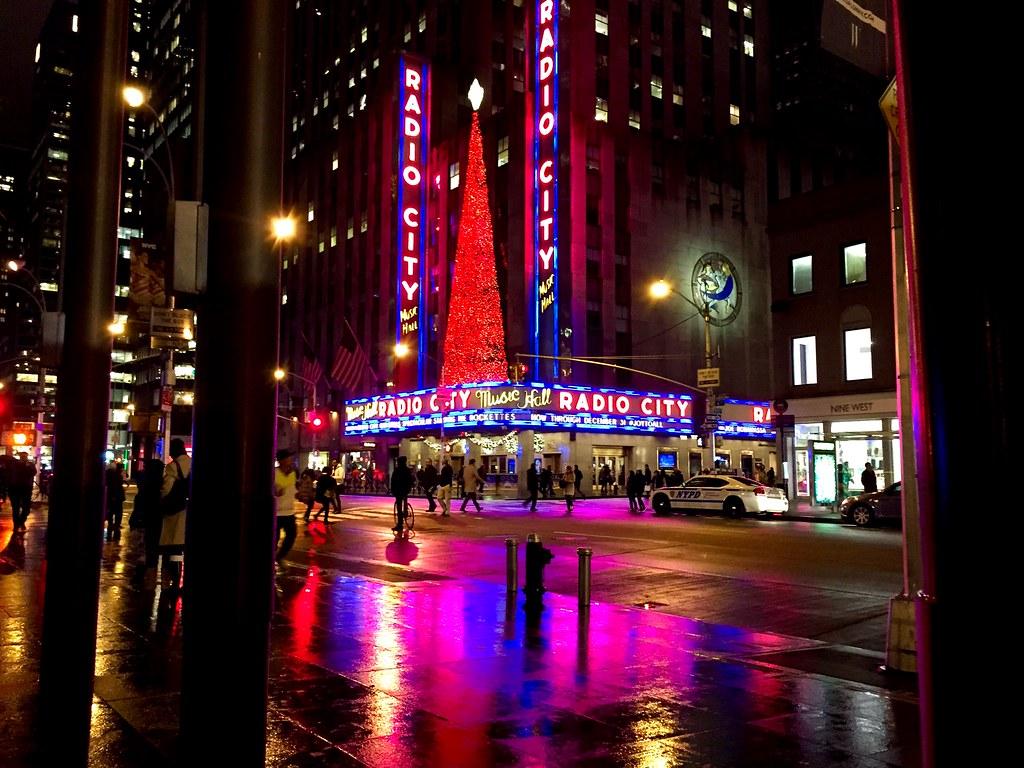 Radio City Music Hall at Christmas xmas nyc holiday li
