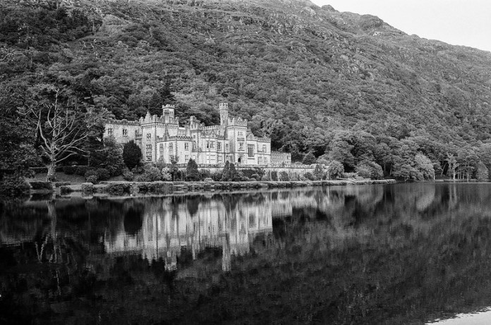 At Kylemore Abbey
