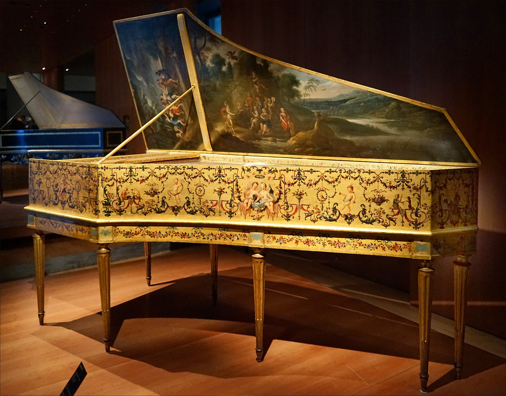 Clavecin Muse de la musique Philharmonie de Paris  Flickr
