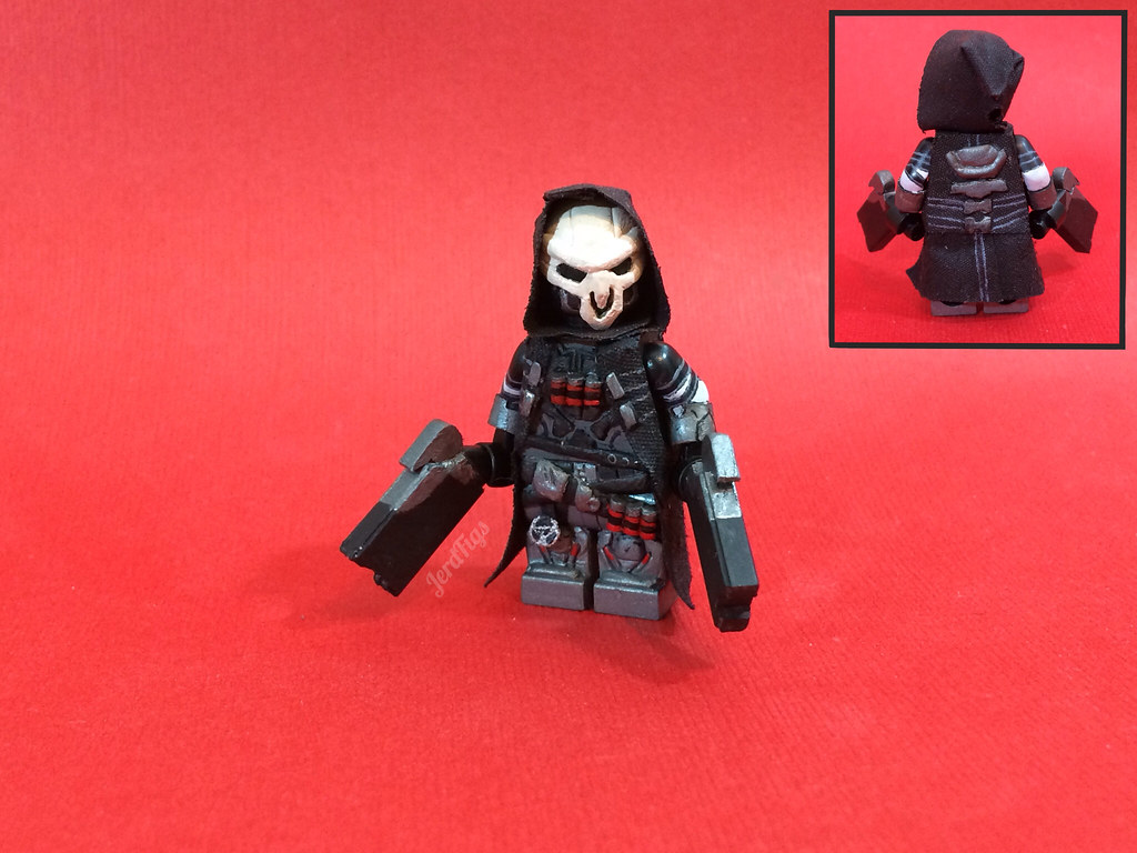 Lego Overwatch Reaper Ive Been Playing More Overwatch