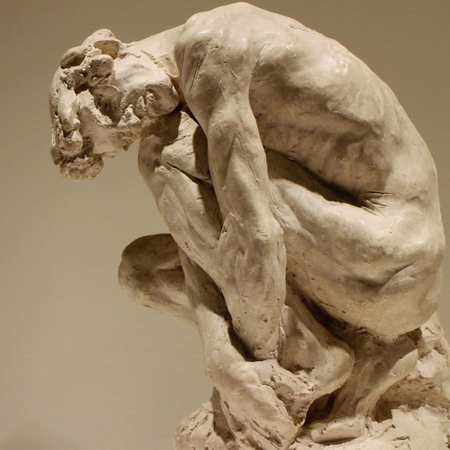 lhomme pench  sculpture de Camille Claudel exposition Ca  Flickr