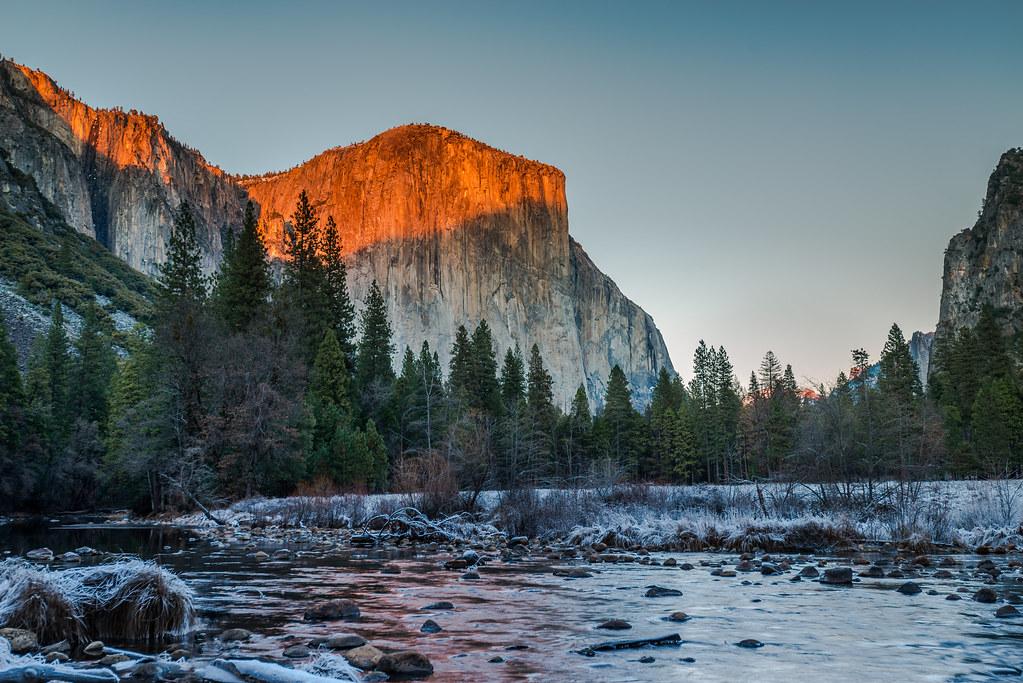 3d Wallpaper El Capitan Valley View Yosemite National Park December