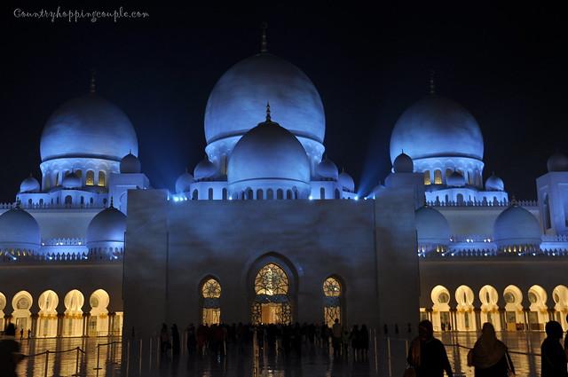 Grand Mosque Abu Dhabi 9