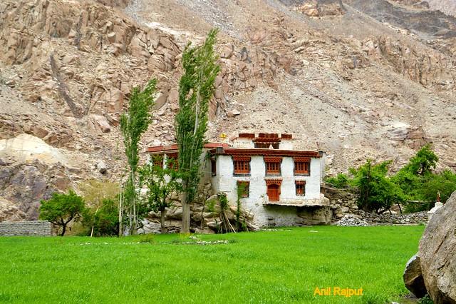 Red Aryans village, Darchik, Buddhist monastery, Batalik, Kargil