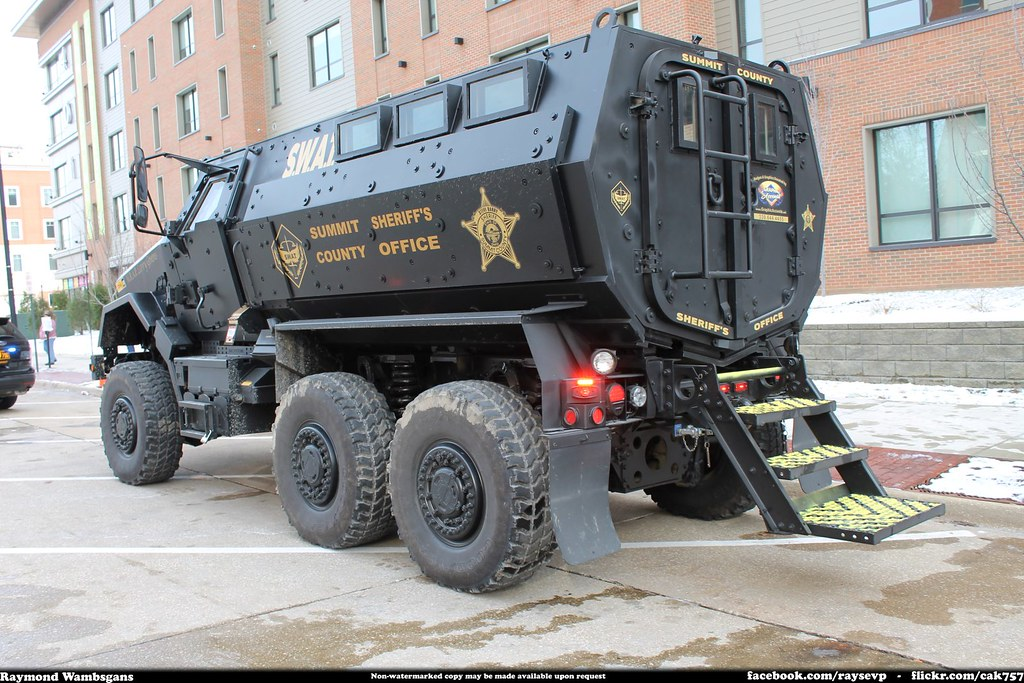 Summit County Sheriff SWAT MRAP BAE Caiman MRAP Recently