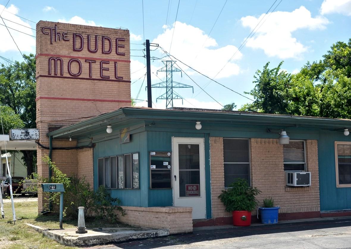 The Dude Motel - 5219 East Belknap Street, Fort Worth, Texas U.S.A. - June 22, 2016