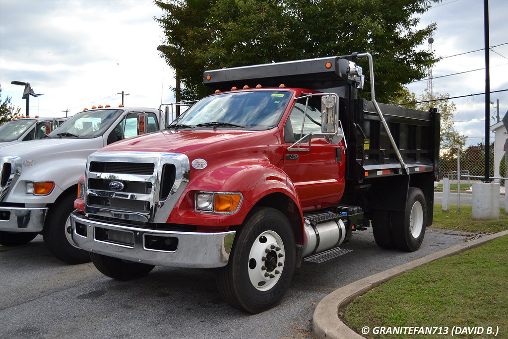 Ford F750 Dump Truck