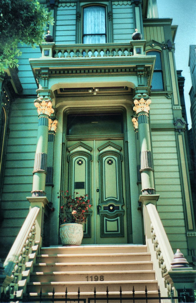 San Francisco California  William Westerfeld House  Hist