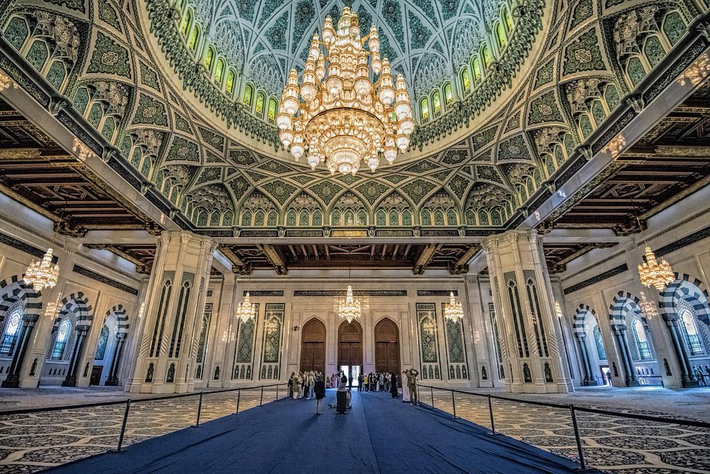 Grande Moschea Sultan Qaboos  Muscat  Esempio di
