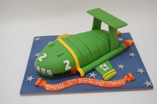 Happy Birthday Thunderbird Cake