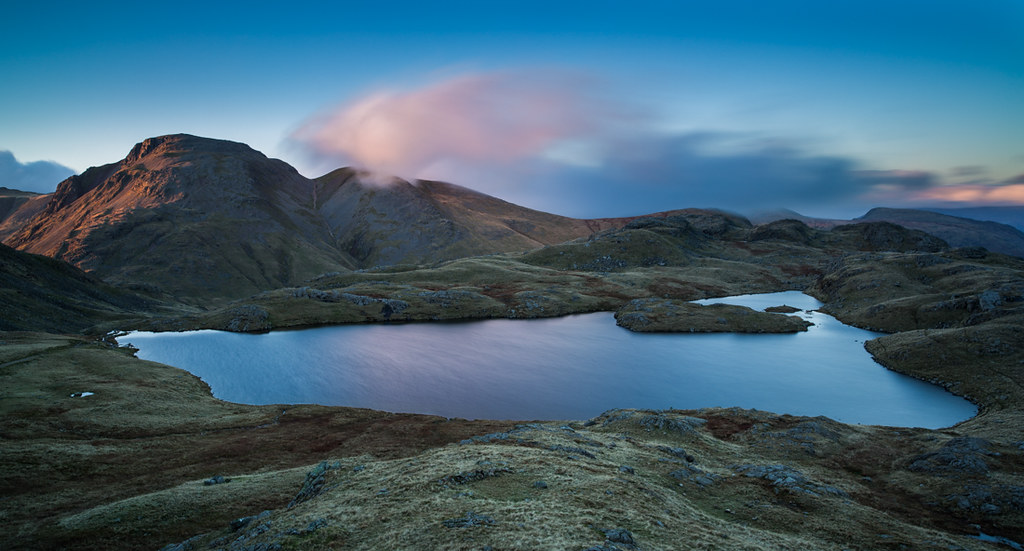 Sprinkling Tarn  Great Gable  This tarn is at the top of
