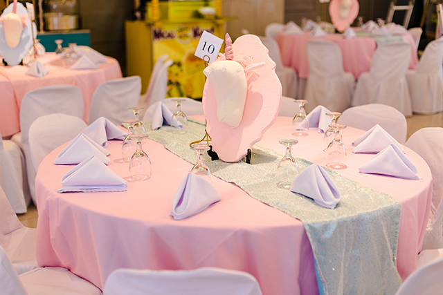 Isobels Unicorn Themed party 1st Birthday Party Doll Manila