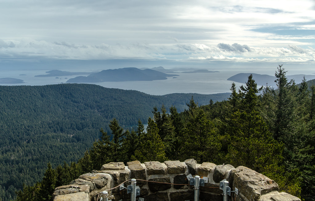 Mount Constitution Viewpoint View Over The Rosario