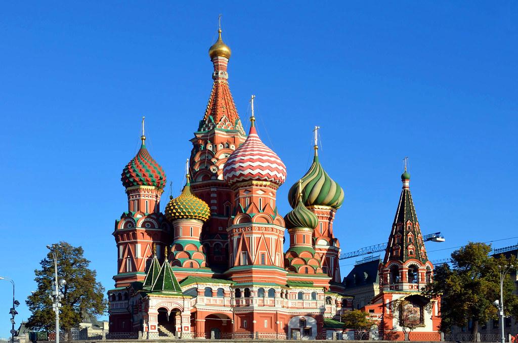 俄羅斯莫斯科聖瓦西里大教堂:景點介紹,交通攻略 « 旅知部落格