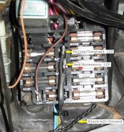 1970 aftermarket radio plugs connectors for hackless 1968 el camino fuse box [ 855 x 1023 Pixel ]
