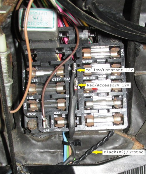 small resolution of 1970 aftermarket radio plugs connectors for hackless 1968 el camino fuse box