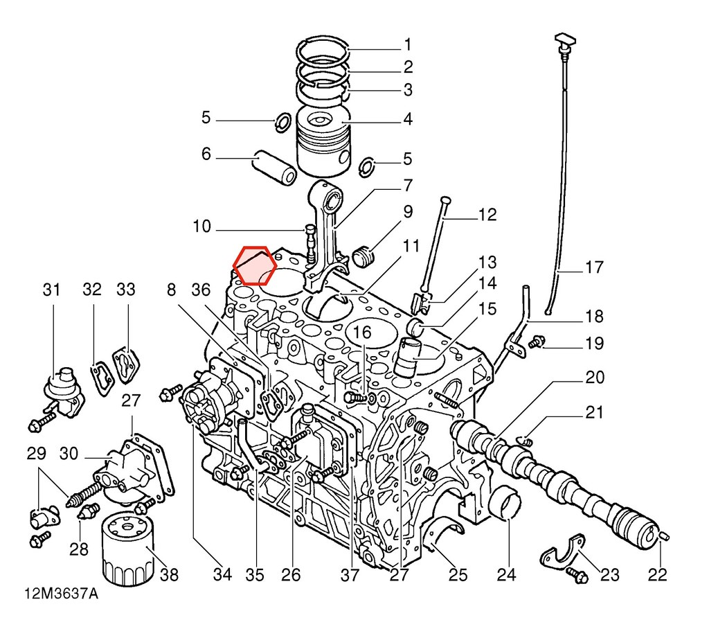 Subaru 2 0 Engine Schematic