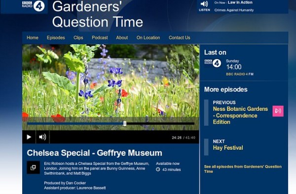 Scythes on Gardeners' Question Time