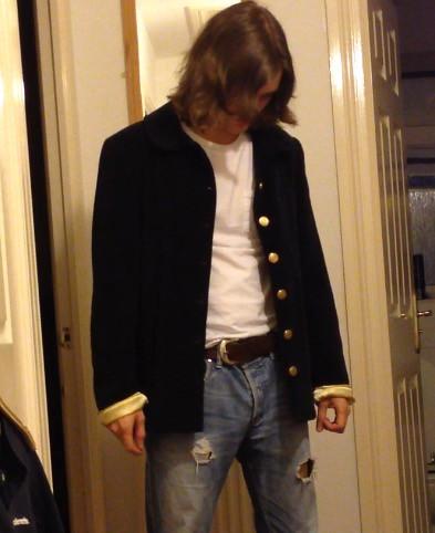 As 3d Name Wallpaper Kurt Cobain Mtv Quot Live And Loud Quot Replica Jacket Andy86i