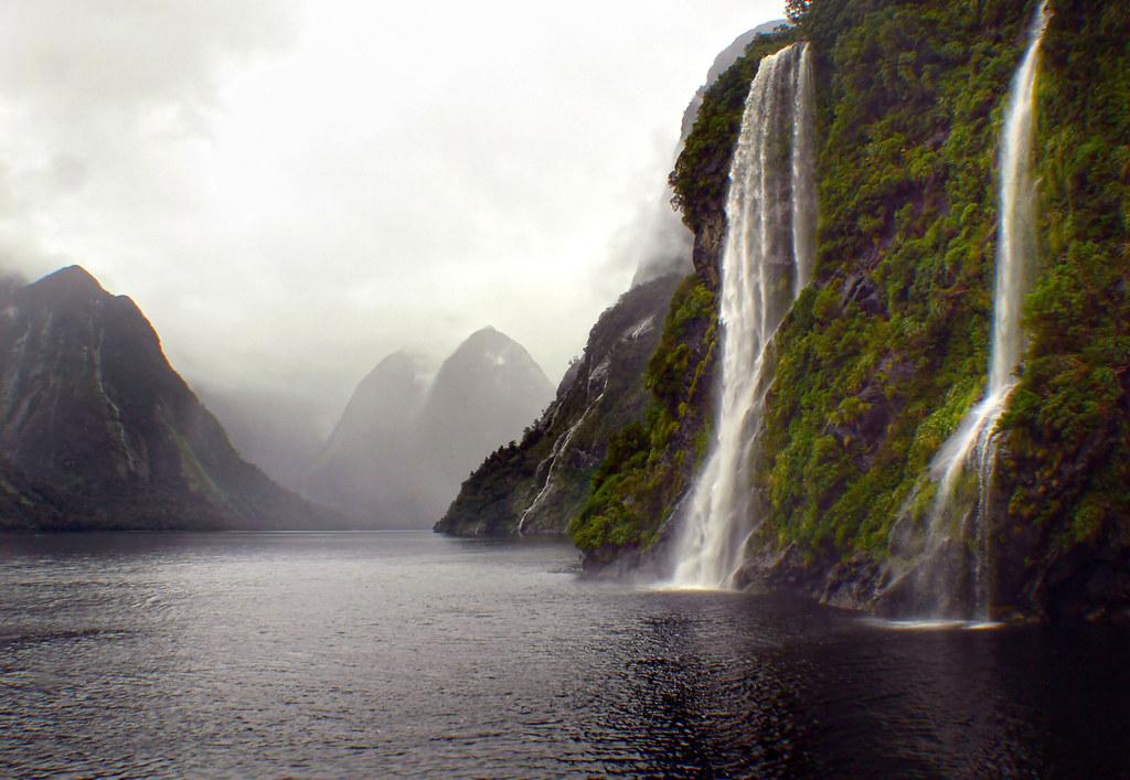 On Doubtful Sound Nz Fiordland National Park Nz