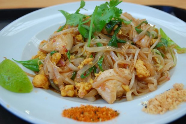 Pad Thai at Mercado da Ribeira | Two Free Days in Lisbon | No Apathy Allowed