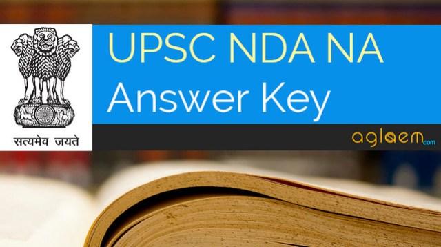 UPSC NDA Answer Key