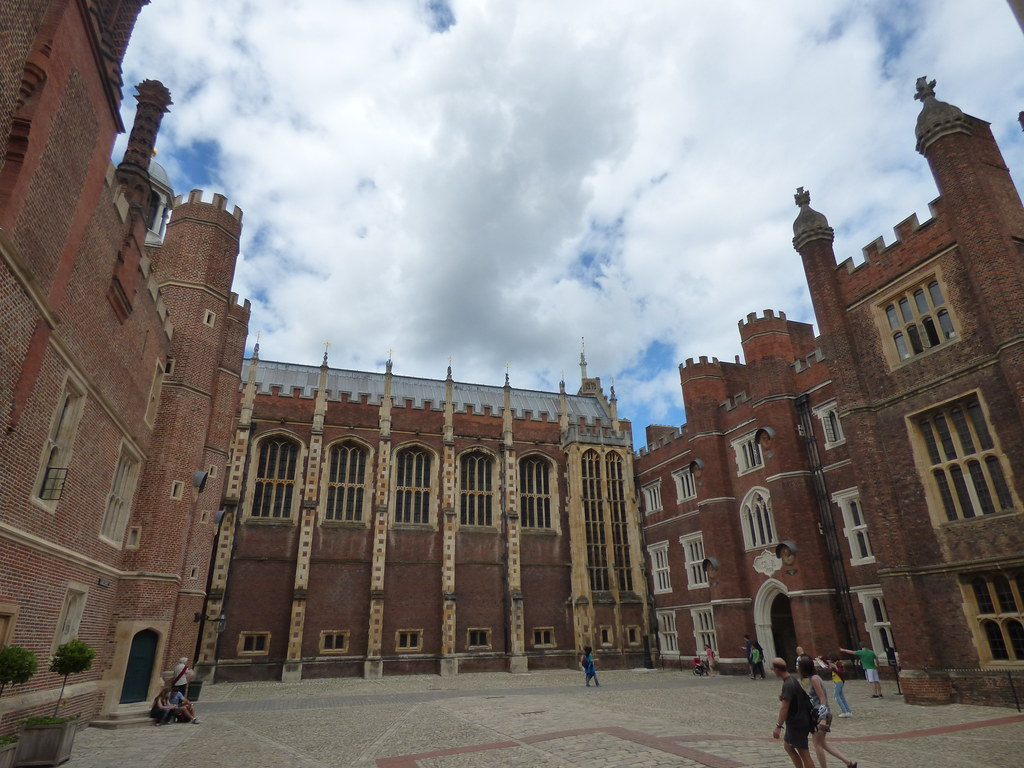The Clock Court  Hampton Court Palace  A day out at