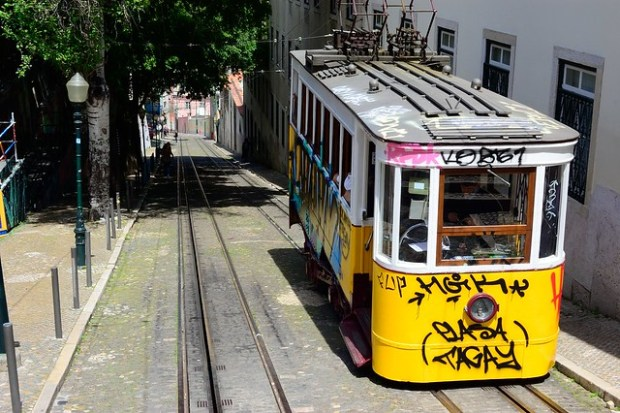 Elevador da Gloria | Two Free Days in Lisbon | No Apathy Allowed