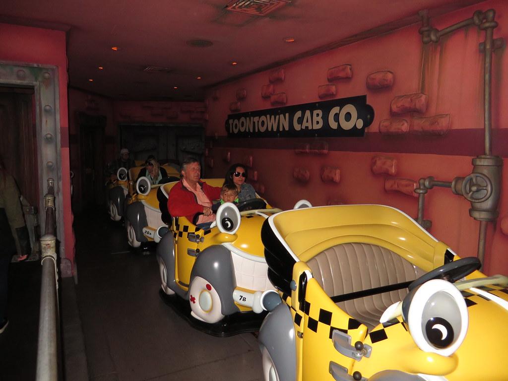 Roger Rabbits Car Toon Spin Mickeys Toontown Disneyland  Flickr