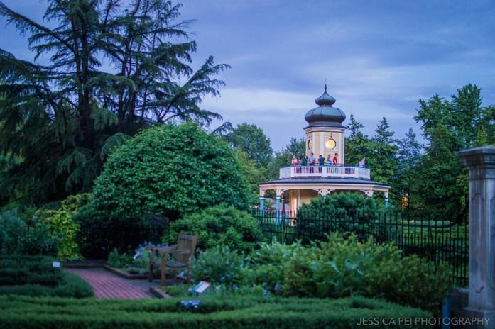 Missouri Botanical Garden at Night
