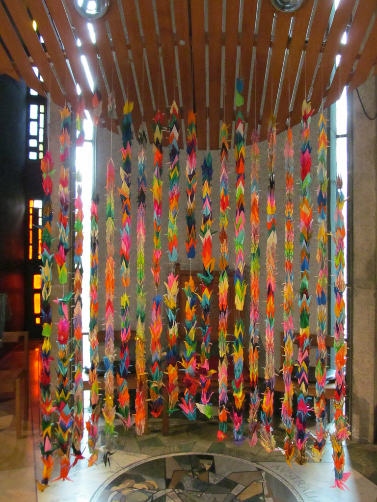 Coventry Cathedral  The Chapel of Unity  Sadako and the