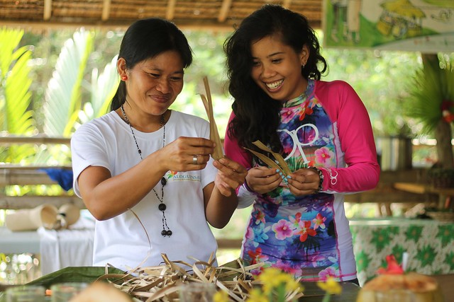 Pandan Weaving Demonstration