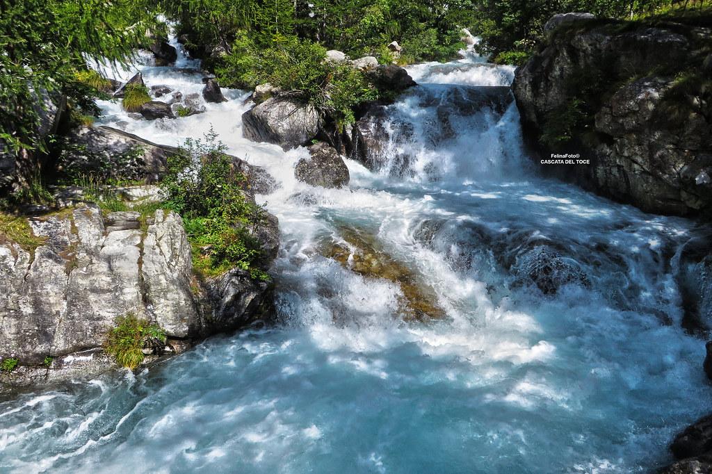 La Cascata del Toce  Val Formazza  Piemonte  La Cascata