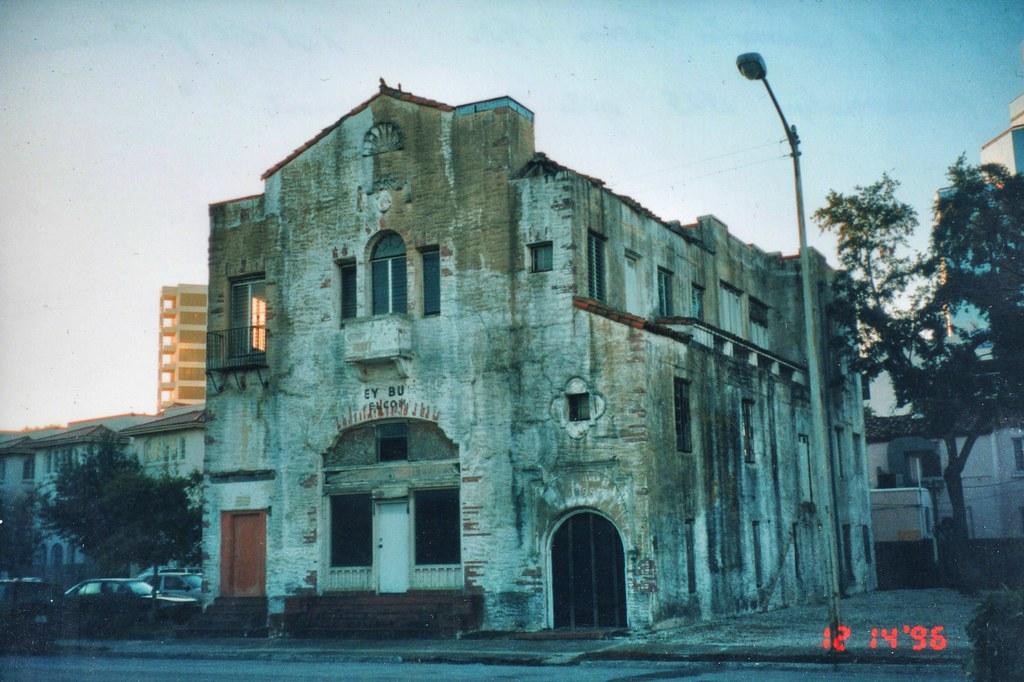 Sarasota Florida  Sarasota Times Building  Before Restor