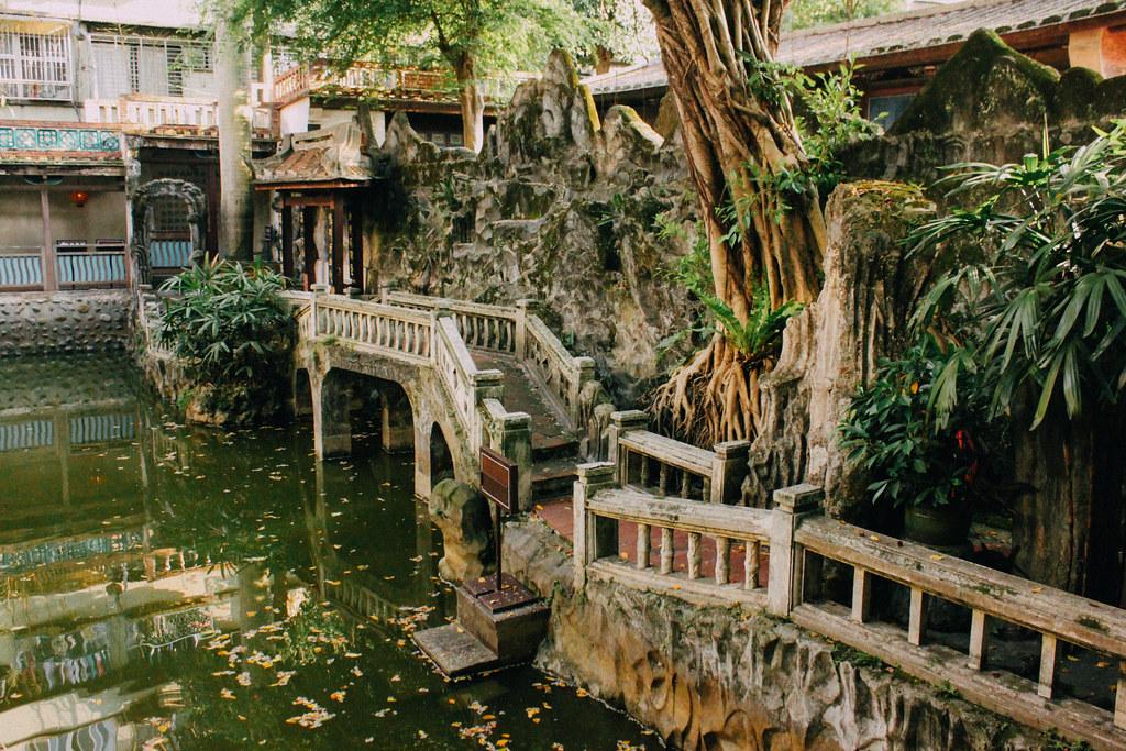 Los Jardines de la familia Lin todavía conservan gran parte de su estructura original